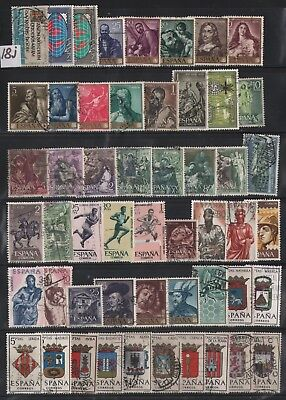 Spain Lot Of Stamps #18J