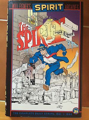 DC Comics - SPIRIT ARCHIVES VOL 25 HC by Will Eisner - Daily Strips 1941 - 1944