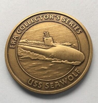FRA Collector's Series USS Seawolf Challenge Coin A28