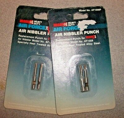 Air Nibbler Replacement Punch for Mark 1  -- AF1008P - 2-2 packs