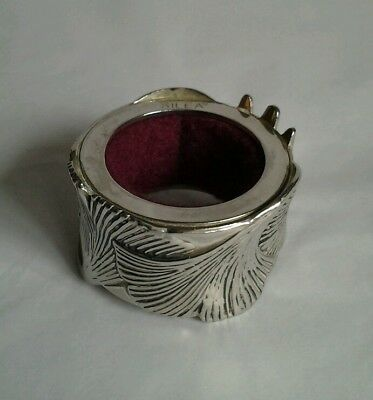 Silver Plated SILEA Napkin Ring