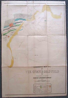 Gympie Goldfield. Map#2. 1888