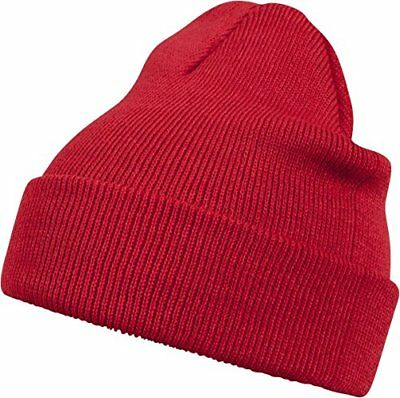 (TG. Taglia unica) Rosso (Red 3100) MSTRDS 10248, Cappello Invernale Unisex, Ros