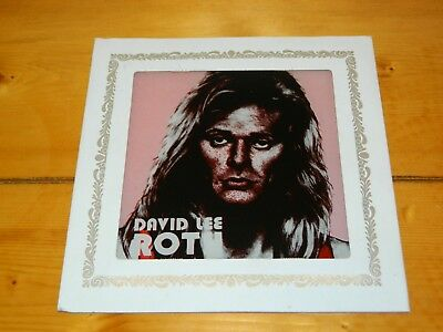David Lee Roth fair carnival glass mirror prize from 1985 Van Halen