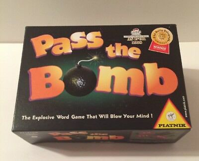 "Vintage ""Pass The Bomb"" Game by Weekend Games - 1994 Edition - See Description"