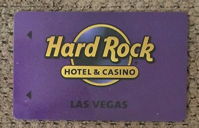 NEW Glitter Purple Hard Rock Las Vegas Hotel & Casino Room Key