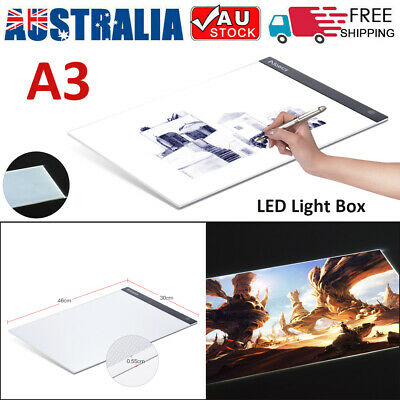USB LED Tracing light Box Art Tattoo A3 Drawing Pad Table Diamond Painting D0M0