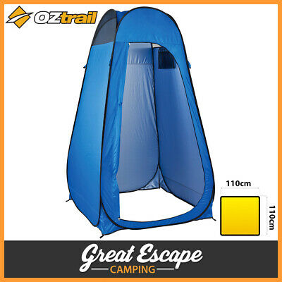 OZtrail Pop up Privacy Ensuite. Shower Tent Change Room Toilet Camping Flip Out