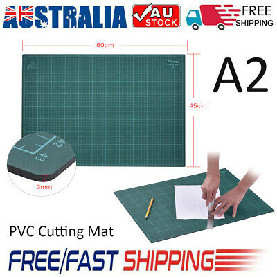 PVC Cutting Mat A2 Durable Self-Healing Cut Pad Patch work Tools Handmade AU