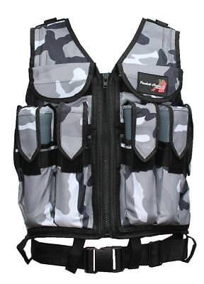 Tactical Swat Weste Urban Camo / Brustpanzer Einsatzweste Gotcha Paintball