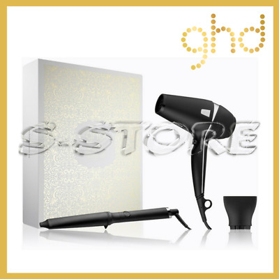 Ghd Arctic Gold Dry & Wave Gift Set Curl Creative Curve + Phon Air