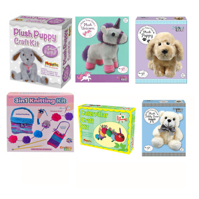 21670 FLUFFY SEWING KIT STITCH CRAFT CUTE FUN DOG PET MAKE YOUR OWN PUPPY