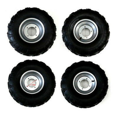 Kids ATV Quad Go Kart Tyres Tubeless 19x7-8 Front + 18x9.50-8 Rear W/ Rims AU
