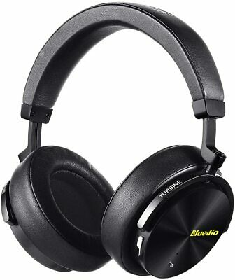 Bluedio T4s Active Noise Cancelling Bluetooth Headphones Over Ear with Mic