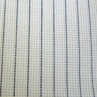 Waste Canvas 14 count  Zweigart 33 x 25cm for cross stitch - white