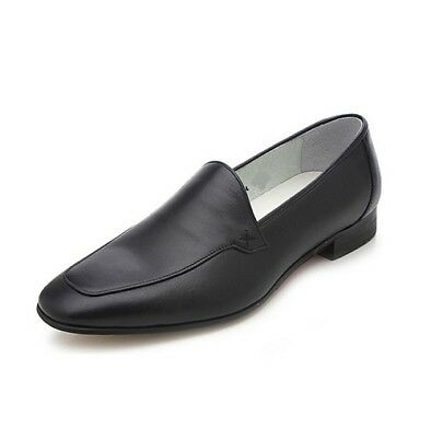 Slip Ons Casual Leather Dress Boots Handmade Genuine Mens Leather Formal Shoes