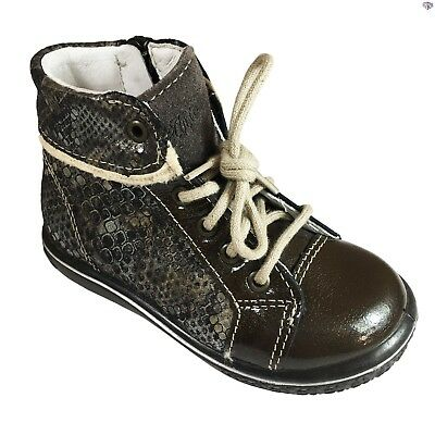 Ricosta Zayni Boys Ankle Boots Cafe  60/% OFF RRP