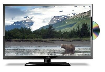 """Cello 12v 20"""" LED TV DVD WITH FREEVIEW HD USB HDMI 12v & 240v CABLES INCLUDED"""