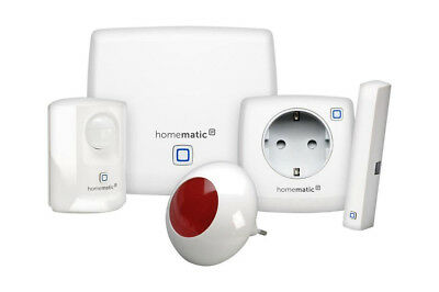 Homematic IP Starter Set Sicherheit Plus Alarmanlage Smart Home Alexa