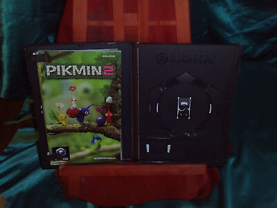 OVP empty case Gamecube Pikmin 2 + instruction booklet Spielanleitung Leerhülle