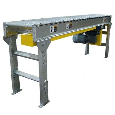"NEW! Omni Metalcraft Lineshaft 3' Drive Conveyor 1.9"" Dia. 22""BF, 3/4 HP!!"