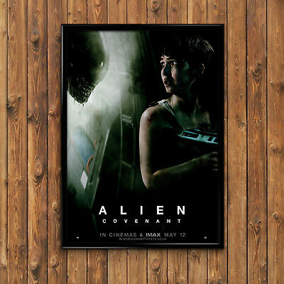 ALIEN COVENANT TEXTLESS POSTER FILM A4 A3 A2 A1 CINEMA MOVIE PRINT ART