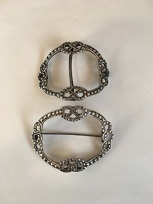 Pair Of Georgian Silver Buckles