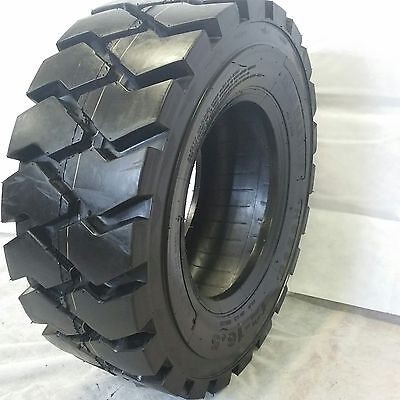 1 New 12X16.5 Road Warrior Skid Steer Tires Rs-103 14 Ply  Heavy Duty 12-16.5