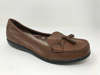 e6ae098348ad New! Women s Thom McAn Dacia 40247 Tassel Loafers Brown SIZE 10 (Wide Width)