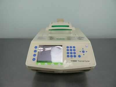Bio-Rad C1000 Thermal Cycler with 96 Deep Well Head with Warranty SEE VIDEO