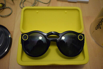 Snapchat Spectacles Black Complete Like New (Neri completi come nuovi!)