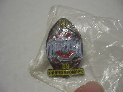 McDonald's Ohio State Football 09 Proud Sponsor Hat or Lapel Pin