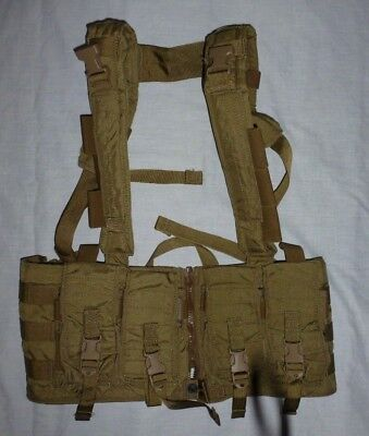 Eagle Industries MPCR Multi-Purpose Split-Front MOLLE Chest Rig Khaki NEW
