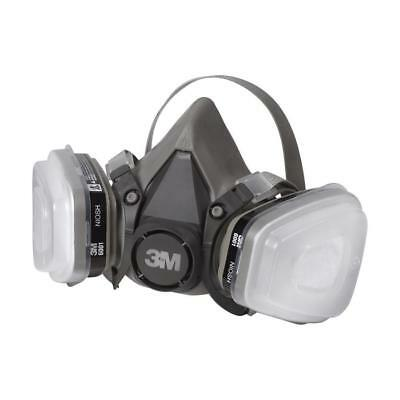 3M 6211 Paint Project Respirator  6211PA1 Made in U.S.A.