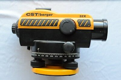 CST/Berger 32x Automatic Level 32x Magnification Very Good Condition