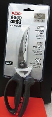 OXO Good Grips Pro Stainless Steel Kitchen Poultry Shears. New in packaging.