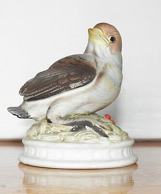 Fine Decorative Collectible Is This Lefton China Hand Painted Snow Bird Kw1637