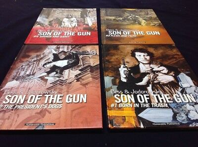 Son Of The Gun Hardcover Set - 1st Prints Vol. 1-4 Complete