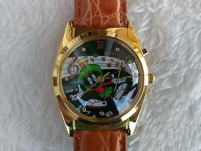 1994 Vintage Looney Tunes Marvin The Martian Musical Armitron Watch