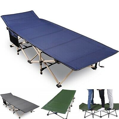 REDCAMP Heavy Duty Folding Camping Cot for Adult Hiking Travel Military Wide Bed