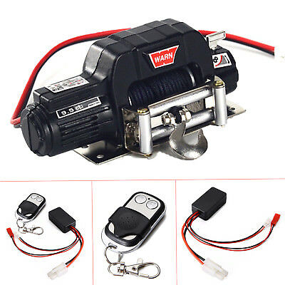 Aluminum RC Scale 1/10 Electric Winch Single Controller For Axial SCX10 Crawler