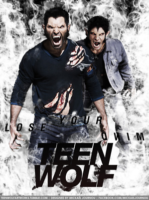 "050 Teen Wolf - MTV Blood Action Thriller TV Show 14""x18"" Poster"