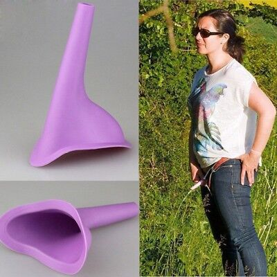 Protable Women Urination Device Urinal Camp outdoor Stand Up Pee toilet Potty