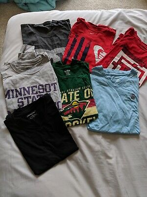 Men's clothing lot- Size L Brand Names - Nike, Express, Zara, Under Armor, DC...