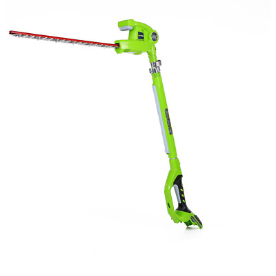 """Greenworks 24V Cordless Pole Hedge Trimmer 51cm (20"""") - Battery and charger not"""
