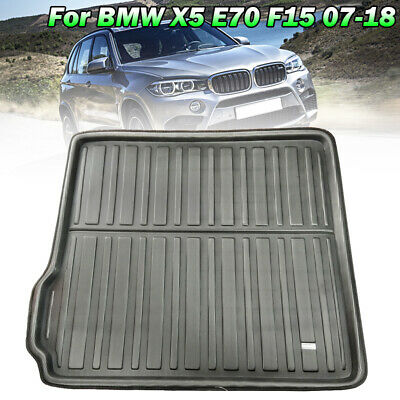 For BMW X5 / X5 M E70 F15 F85 2007-2018 Cargo Liner Boot Trunk Floor Mat Tray