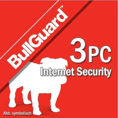 Bullguard Internet Security 2019 3 PC 2018 3 Dispositivi | 1 Anno IT EU