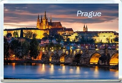 Prague Fridge Magnet 1