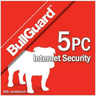 Bullguard Internet Security 2019 5 PC 5 Dispositivi | 1 Anno 2018 IT EU