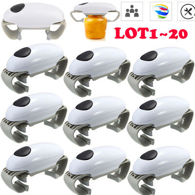 LOT Automatic Electric Jar Opener Touch Can Tin Opener Kitchen Tools Gadget BT